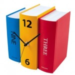 Table Clock Book – Karlsson